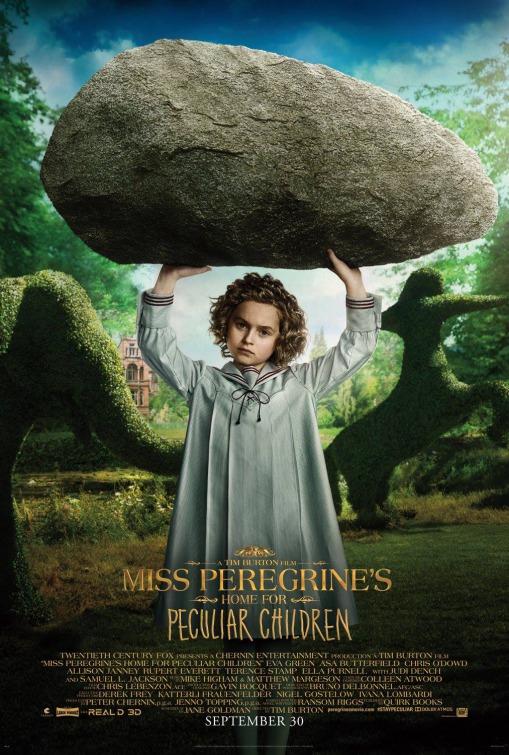 Posters - A Casa da Senhora Peregrine para Crianças Peculiares 7/8