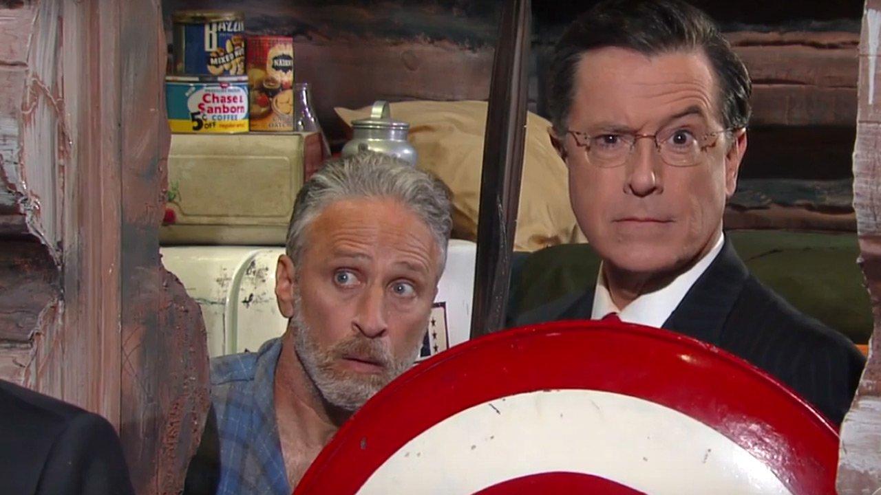 As aventuras de Stephen Colbert na convenção republicana e a reunião com Jon Stewart