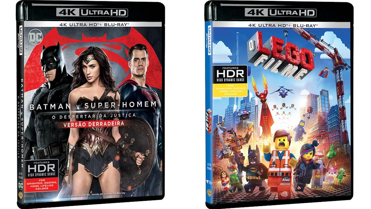 Primeiros filmes Blu-Ray em 4K Ultra HD chegam amanhã a Portugal
