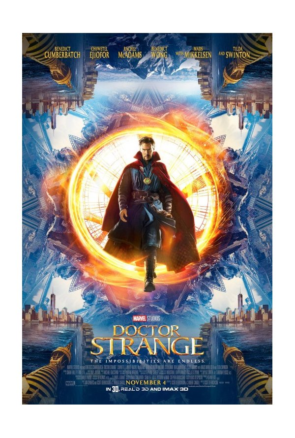 "Posters Comic Con 2016 5/10: Poster ""Doctor Strange"" (2016)"