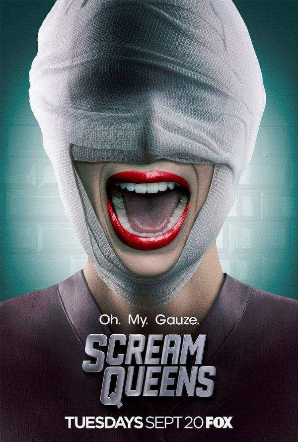 "Posters Comic Con 2016 8/10: Poster ""Scream Queens"" série temporada 1"