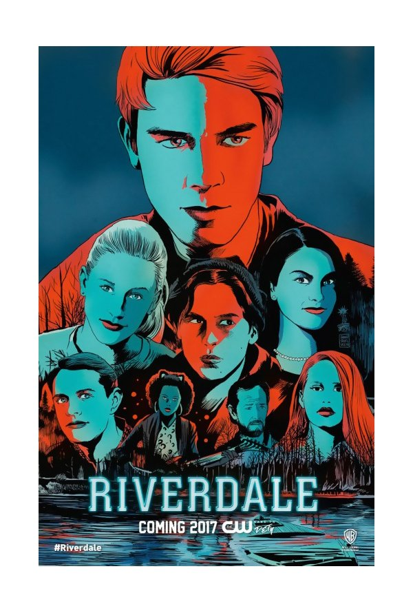 "Posters Comic Con 2016 10/10: Poster ""Riverdale"" série temporada 1"