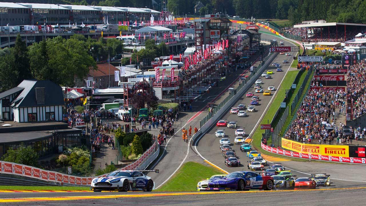 Blancpain GT Series: Eurosport acompanha as 24 Horas de Spa com Filipe Albuquerque