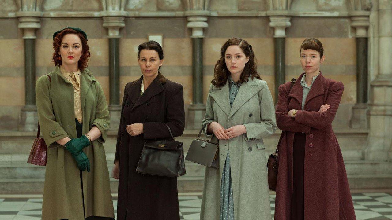 """""""The Bletchley Circle"""" - série policial no feminino em agosto na RTP2"""