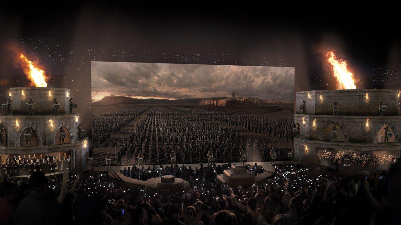 """""""Game of Thrones"""" em concerto ao vivo"""