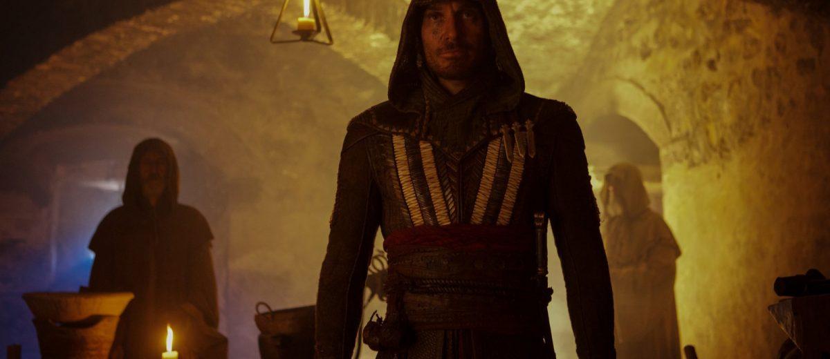 Assassin's Creed 1/8: Michael Fassbender na pele de Aguilar.