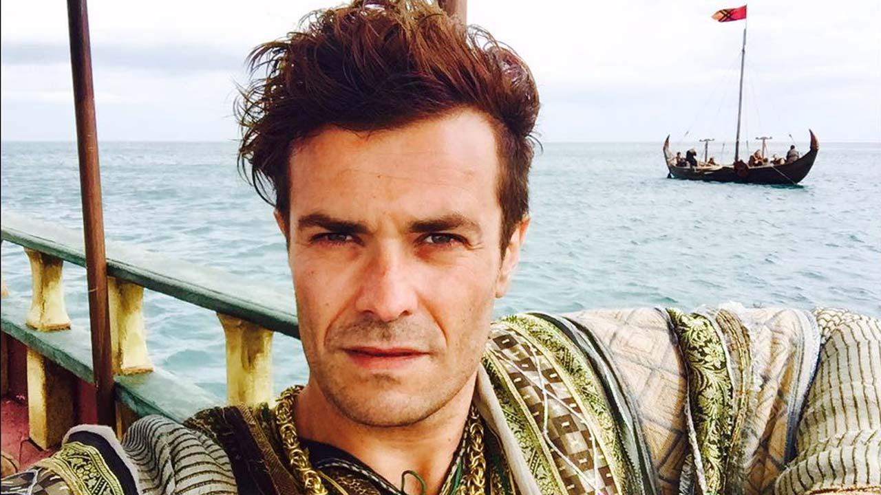 """Ator português Albano Jerónimo no elenco da série """"Vikings"""""""