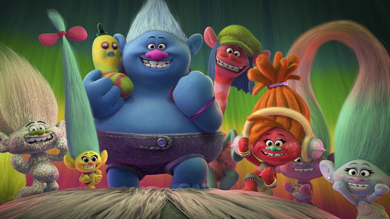 """Conheça as personagens e vozes portuguesas do filme de animação """"Trolls"""""""
