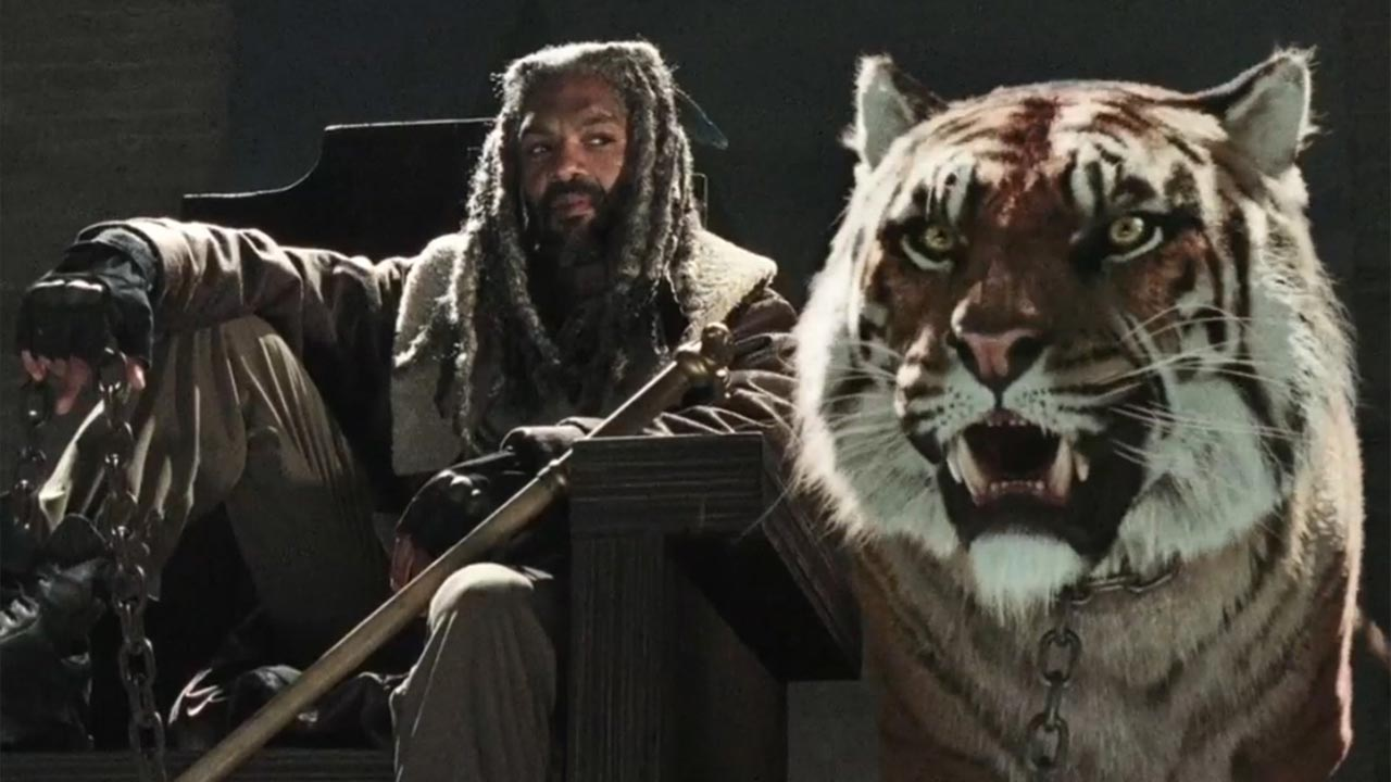 "Ezekiel dá as boas vindas ao seu reino na temporada 7 de ""The Walking Dead"""