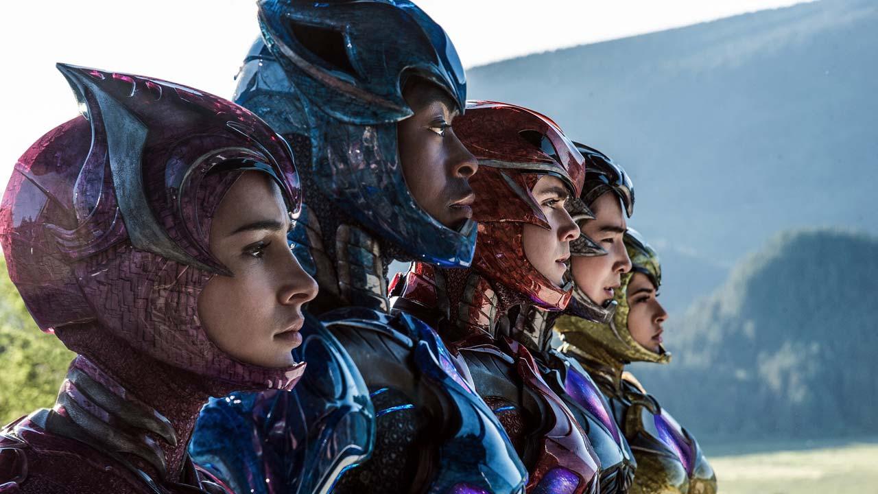 """Revelado o primeiro trailer do filme com os novos """"Power Rangers"""""""