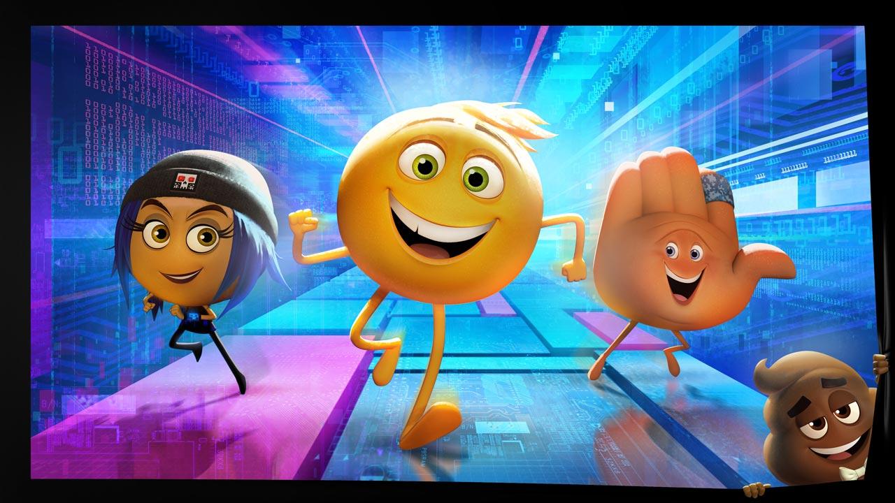 """Primeiro olhar sobre a animação """"O Filme Emoji"""""""