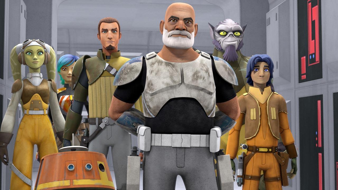 """Star War Rebels"": terceira temporada a 15 de outubro do Disney Channel"