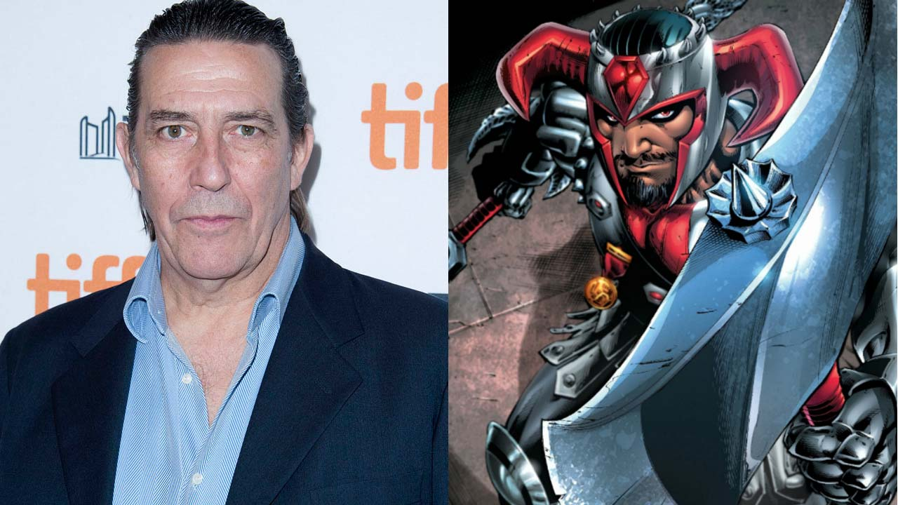 "Ciaran Hinds vai ser o vilão Steppenwolf no filme ""Justice League"""