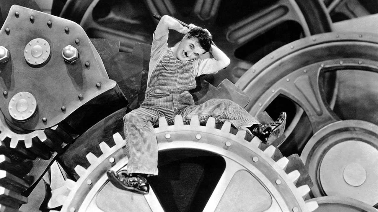 """Versão restaurada de """"Tempos Modernos"""" com Charlie Chaplin no Cinema Ideal"""