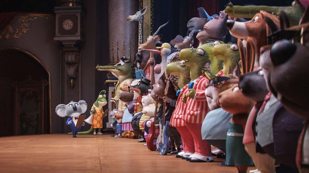 """Apresentamos-lhe as personagens e vozes portuguesas do filme de animação """"Cantar!"""""""
