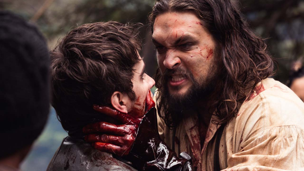 """Os ingleses querem ver Jason Momoa morto no trailer da série """"Frontier"""""""