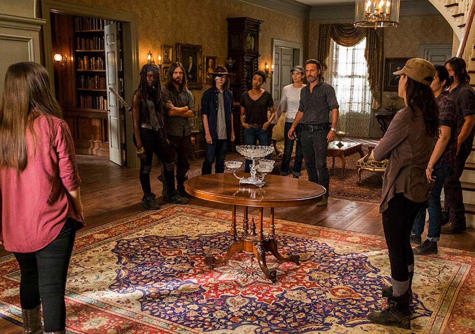 The Walking Dead - segunda parte da sétima temporada 3/4