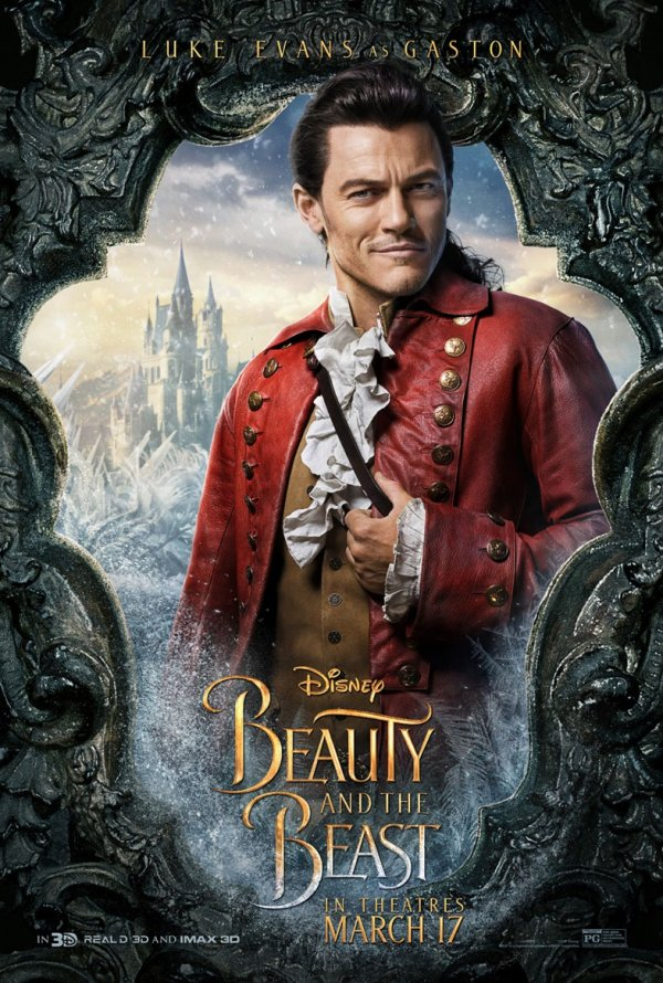 A Bela e o Monstro (personagens) 5/12: Luke Evans (Gaston)