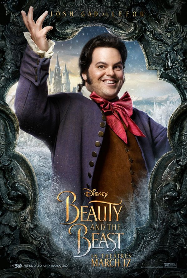 A Bela e o Monstro (personagens) 7/12: Josh Gad (Lefou)