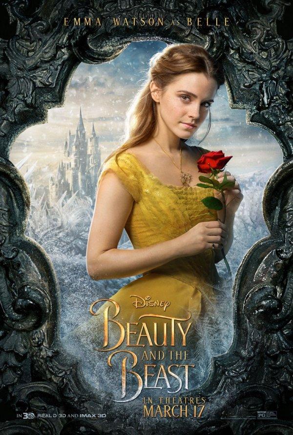A Bela e o Monstro (personagens) 1/12: Emma Watson (Belle)