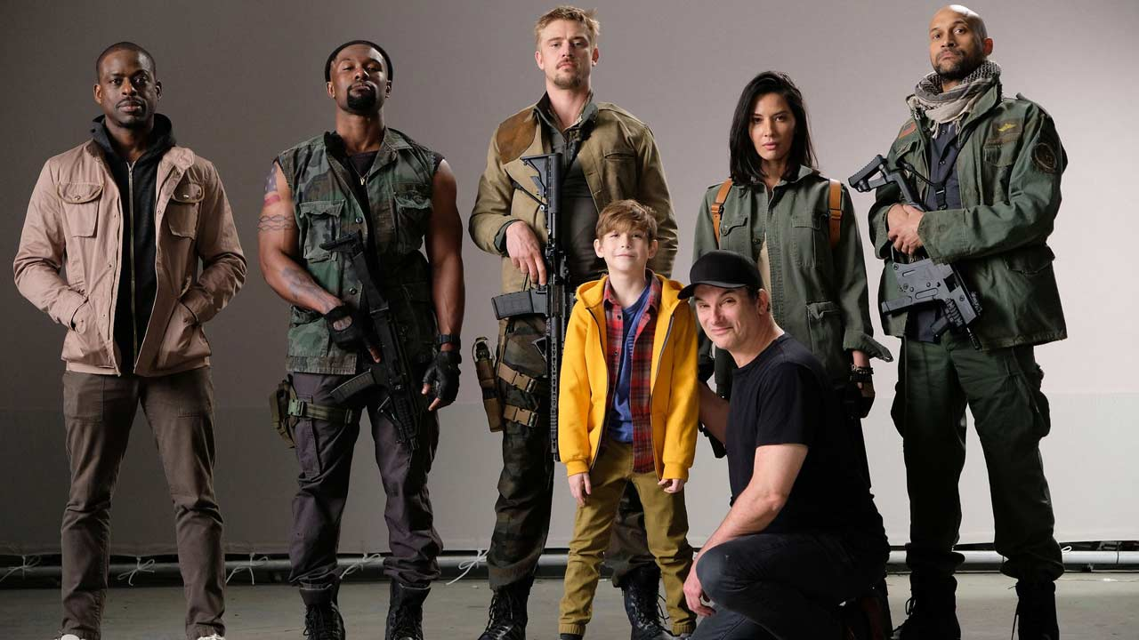 "Primeira foto do elenco do novo ""The Predator"""