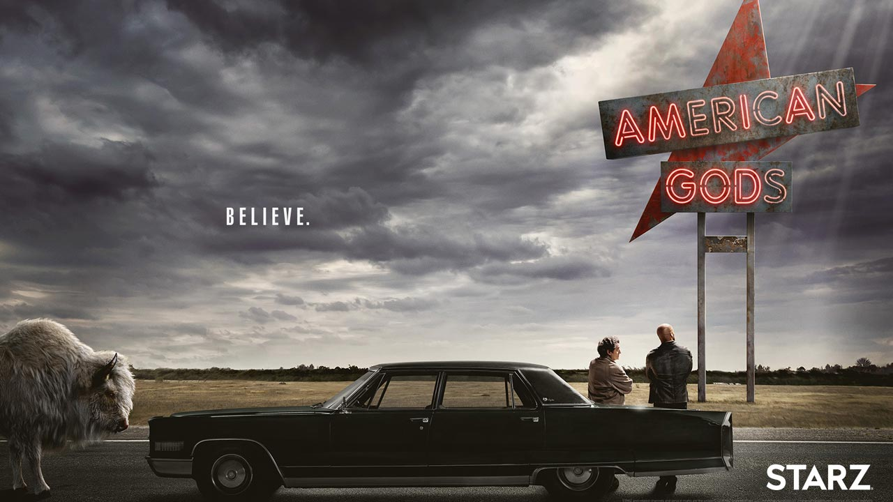 """Vêm ai os deuses americanos - Starz anuncia estreia de """"American Gods"""""""