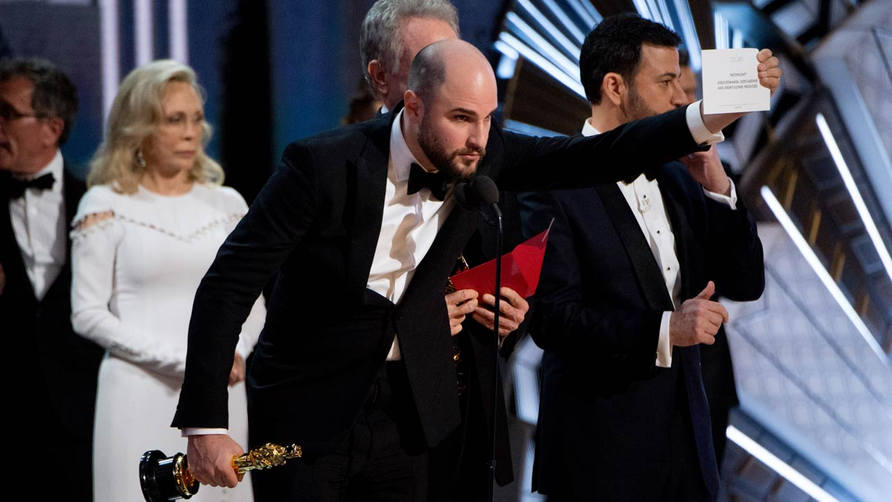 Auditores dos Óscares esclarecem engano