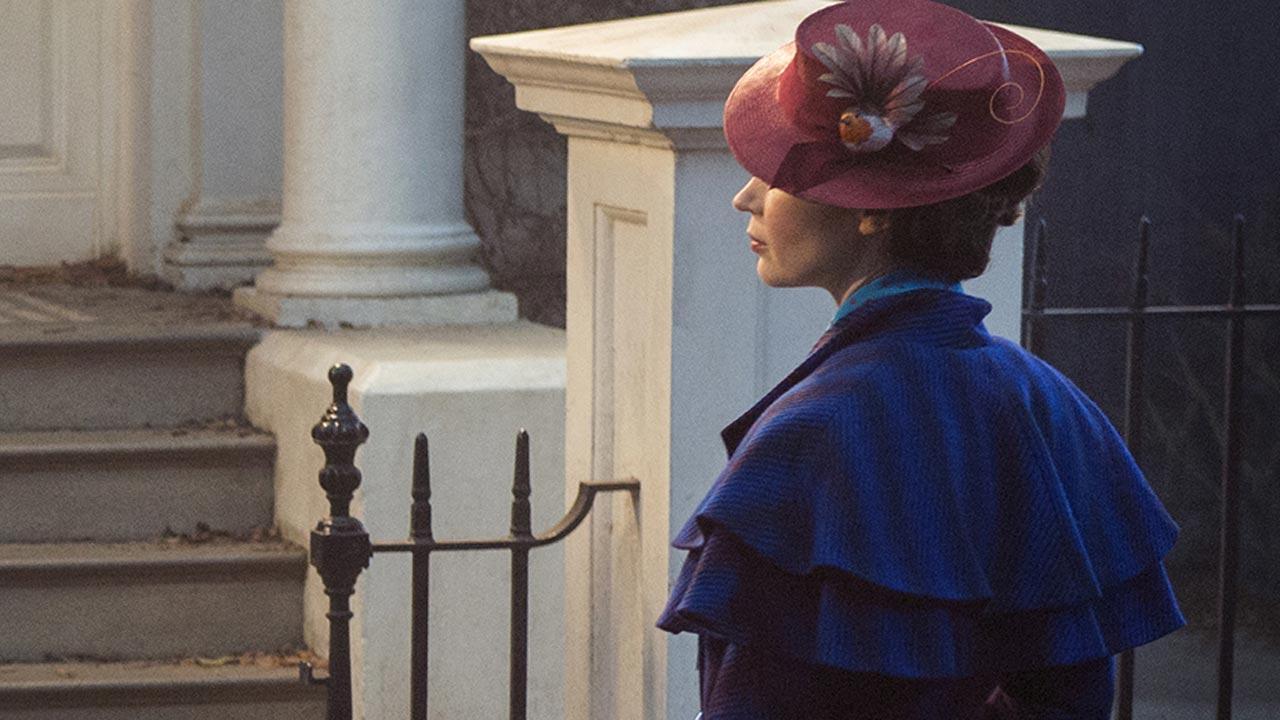 Primeira imagem de Emily Blunt como Mary Poppins