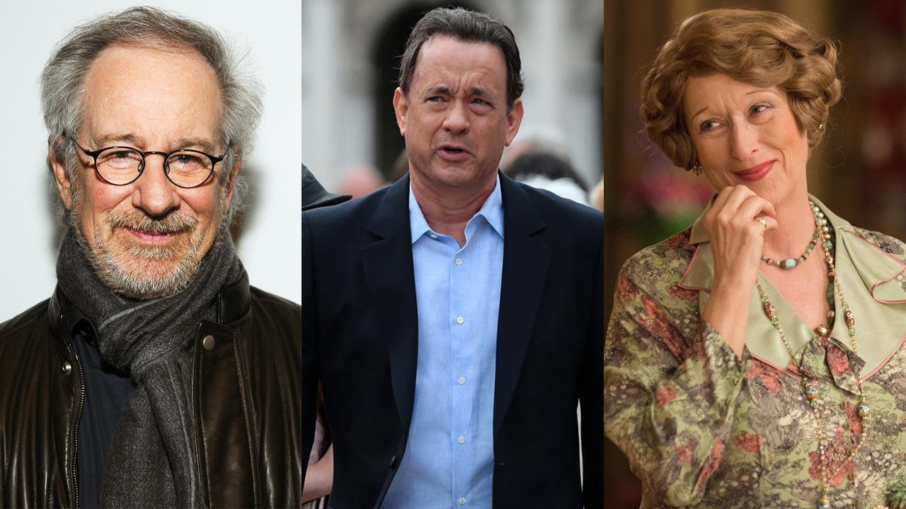 """Steven Spielberg a caminho de dirigir Tom Hanks e Meryl Streep no drama """"The Post"""""""
