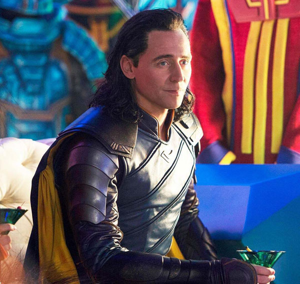 Thor: Ragnarok 2/4: Tom Hiddleston é Loki