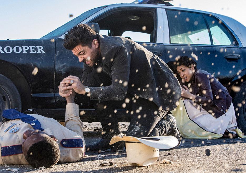 Preacher - primeiro olhar sobre a temporada 2 4/6: Tulip (Ruth Negga) e Jesse Custer (Dominic Cooper).