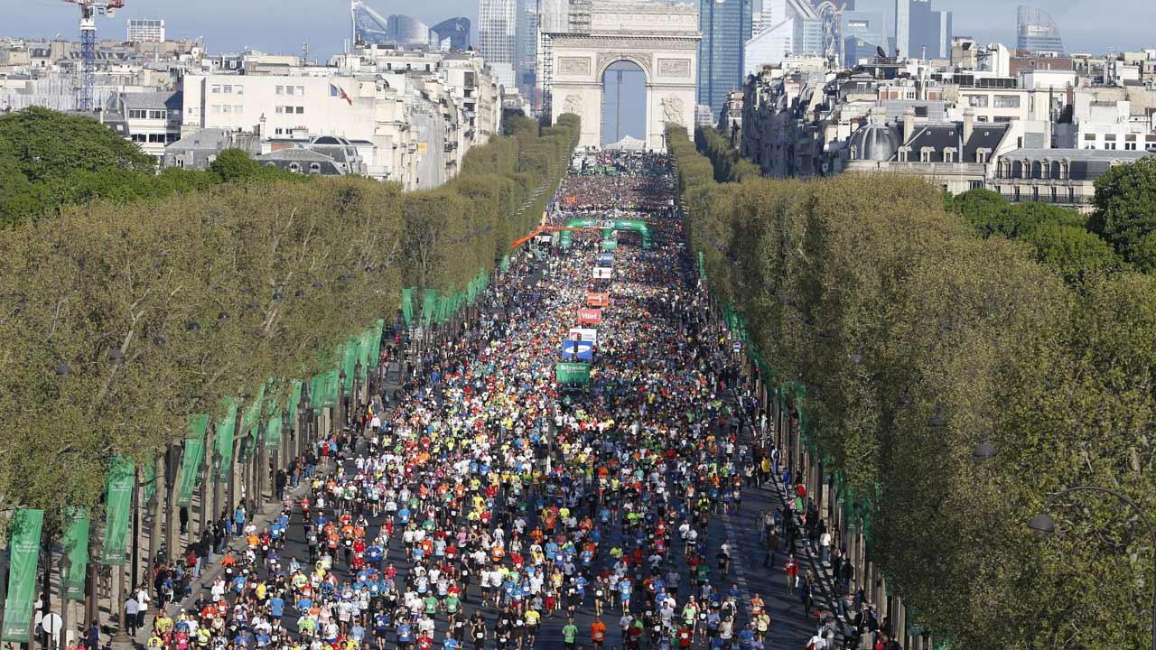 Maratona de Paris em direto no canal Eurosport