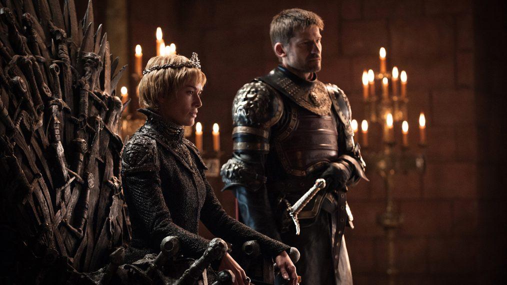 "Primeiro olhar - temporada 7 de ""A Guerra dos Tronos"" 1/15: Lena Headey (Cersei Lannister) e Nikolaj Coster-Waldau (Jaime Lannister)"