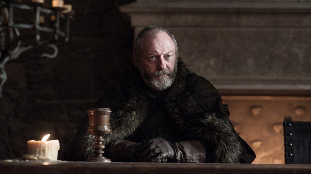 """Primeiro olhar - temporada 7 de """"A Guerra dos Tronos"""" 2/15: Liam Cunningham (Davos Seaworth)"""