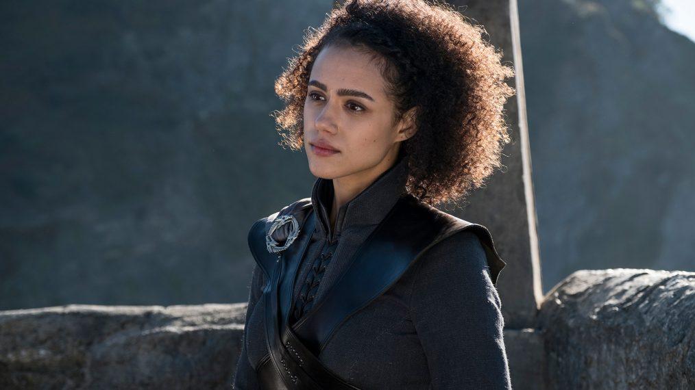 "Primeiro olhar - temporada 7 de ""A Guerra dos Tronos"" 8/15: Nathalie Emmanuel (Missandei)"
