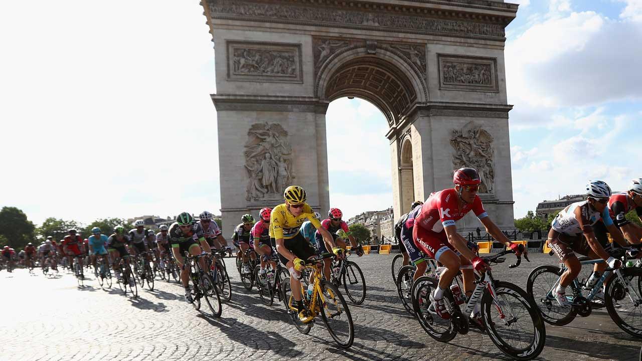 Eurosport prepara a maior transmissão de sempre da Volta à França