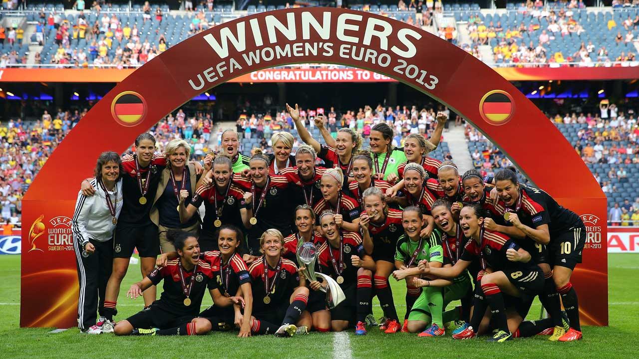 Todos os jogos do Europeu de futebol feminino nos canais e plataformas Eurosport
