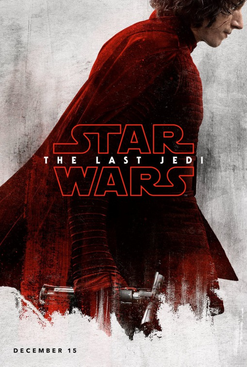 Star Wars: The Last Jedi 3/6: Adam Driver é Kylo Ren