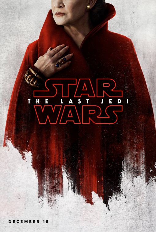 Star Wars: The Last Jedi 5/6: Carrie Fisher é Leia