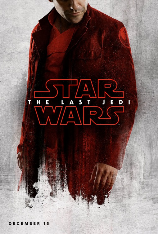 Star Wars: The Last Jedi 6/6: Oscar Isaac é	 Poe Dameron