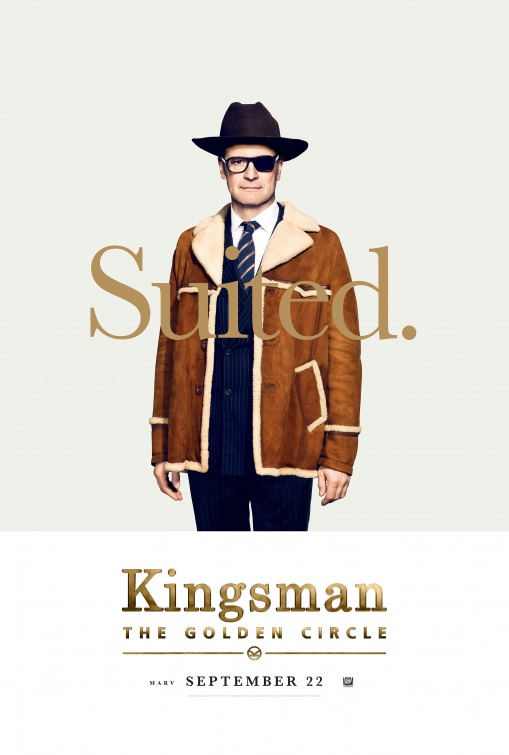 Kingsman: O Círculo Dourado 3/8: Colin Firth (Harry Hart)