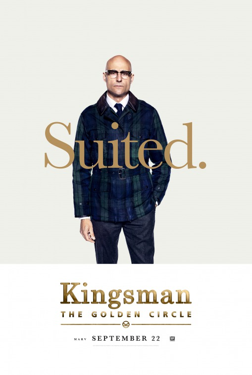 Kingsman: O Círculo Dourado 2/8: Mark Strong (Merlin)