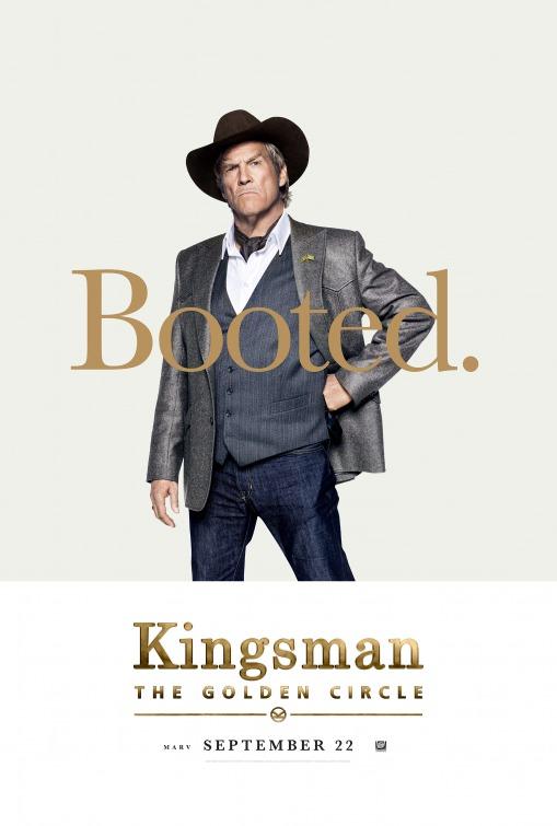 Kingsman: O Círculo Dourado 1/8: Jeff Bridges (Agent Champagne)