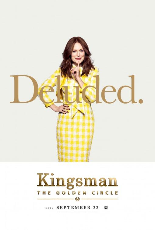 Kingsman: O Círculo Dourado 5/8: Julianne Moore (Poppy)