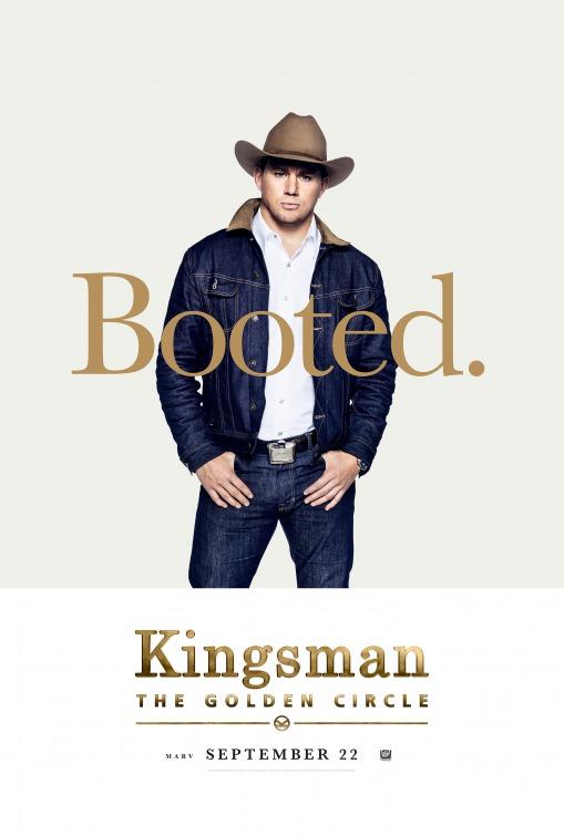 Kingsman: O Círculo Dourado 7/8: Channing Tatum (Agent Tequila)