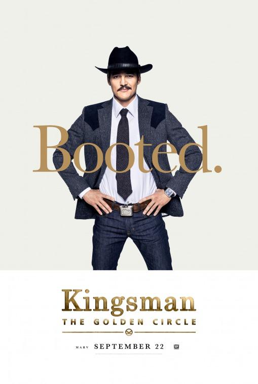 Kingsman: O Círculo Dourado 8/8: Pedro Pascal (Agent Whiskey)