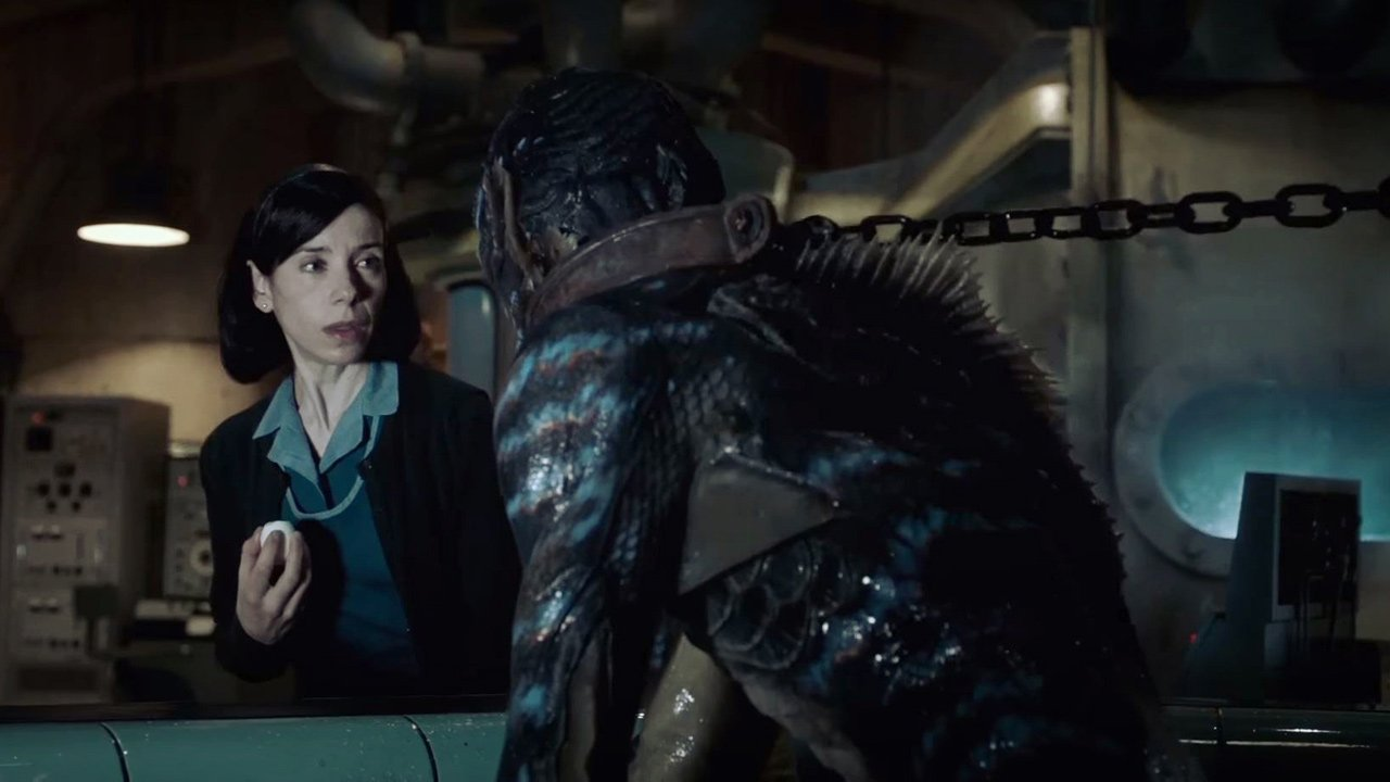 "A empregada de limpeza e o monstro: primeiro trailer para ""The Shape of Water"" de Guillermo del Toro"