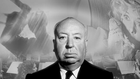 Primeira imagem de Anthony Hopkins como Hitchcock