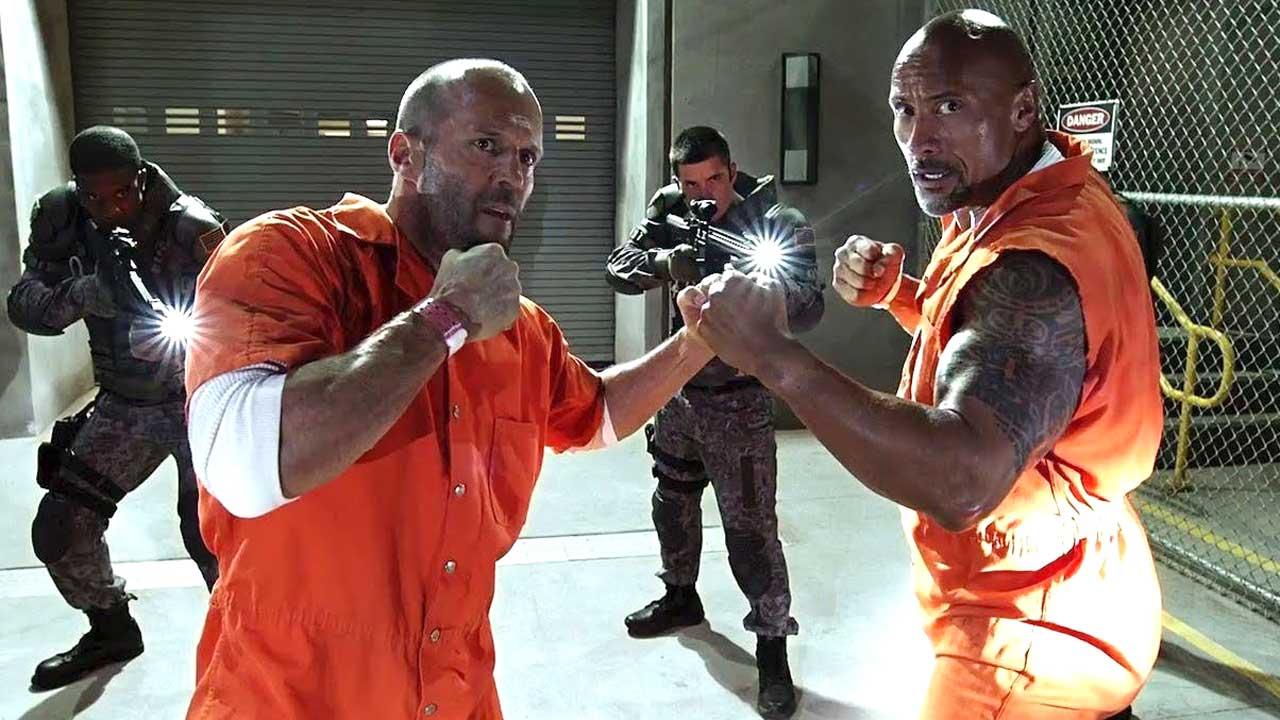 """Spinoff de """"Velocidade Furiosa"""" estreia em 2019 com Dwayne Johnson e Jason Statham"""
