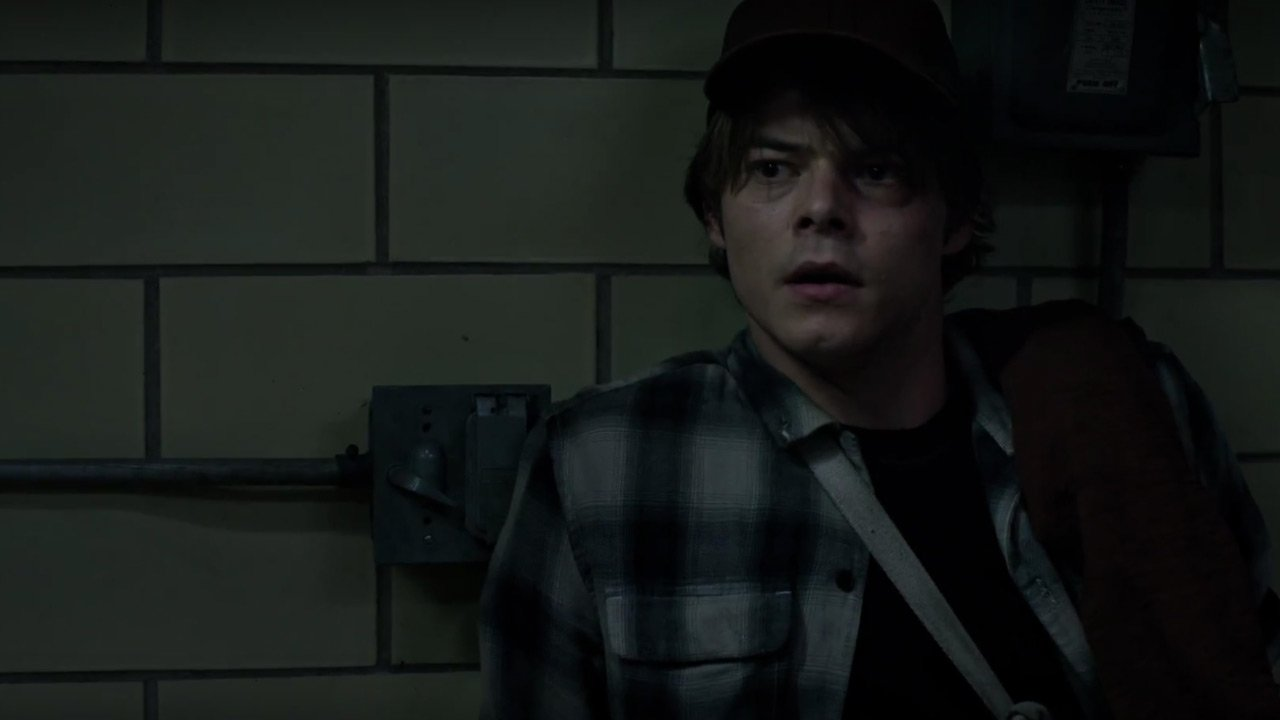 "Personagens ""X-Men: The New Mutants"" 1/5: Sam Guthrie / Cannonball (Charlie Heaton)"